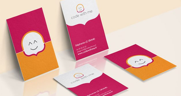 Code With Me Business Card