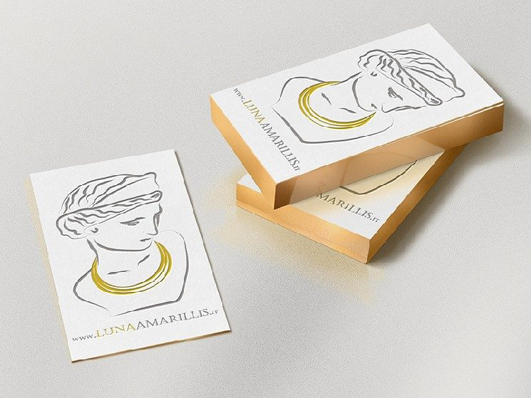 Luna Amarillis Business Card