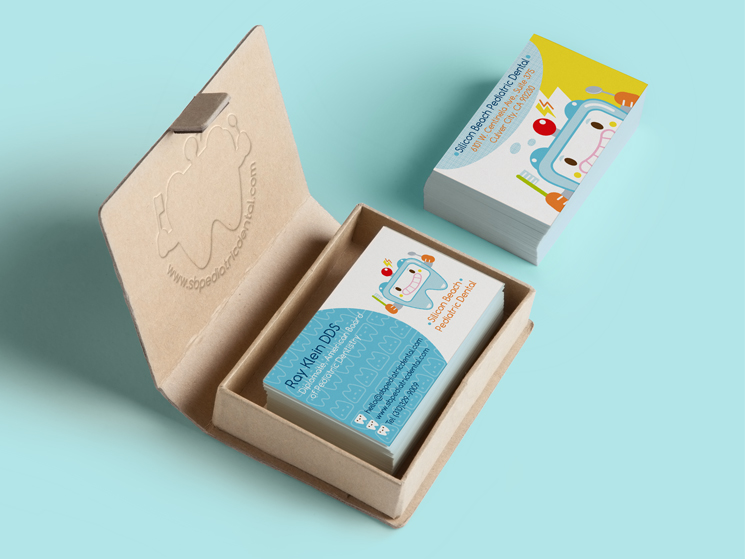 Pediatric Dentistry Business Card