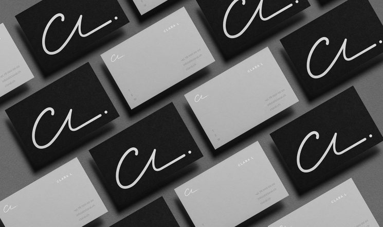 Clara L business cards