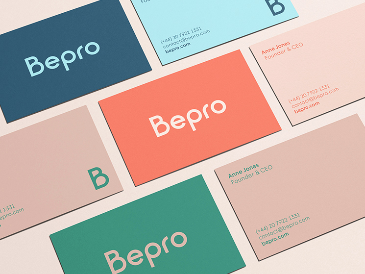 Bepro business card