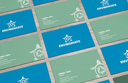 Enviromate business cards