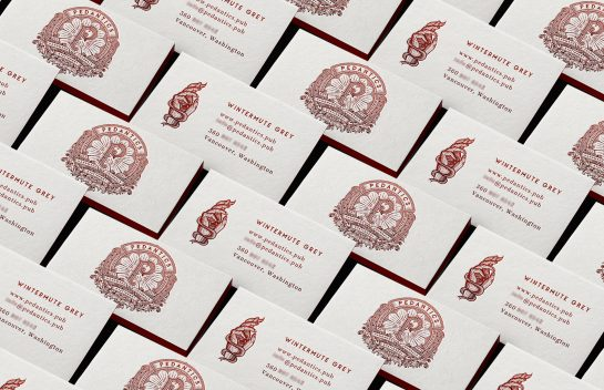 Pedantics Business Cards