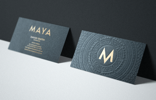 Maya business card