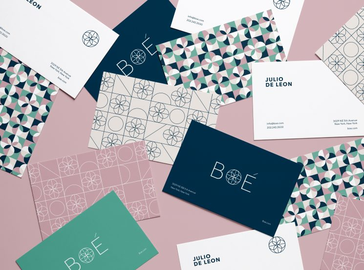 BOÉ business card