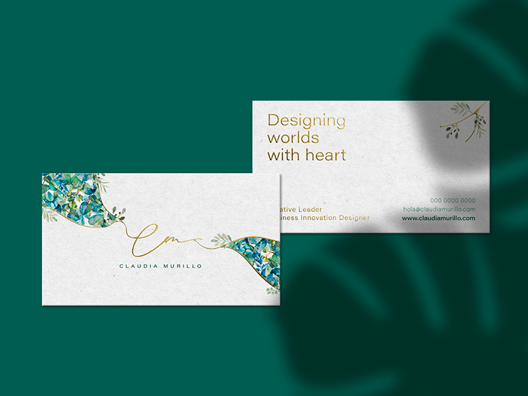 Claudia Murillo business card