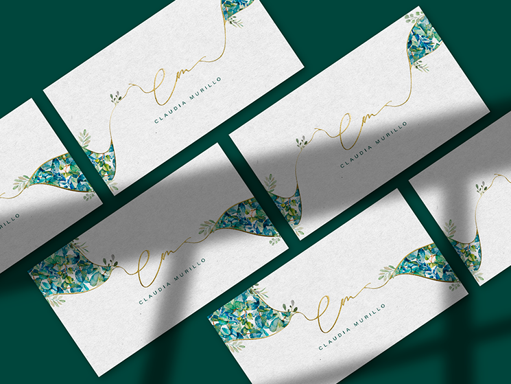 Claudia Murillo business cards