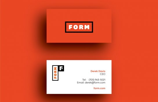 FORM business card