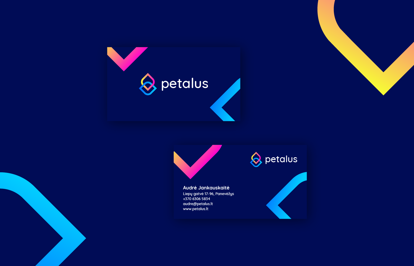 Petalus business card