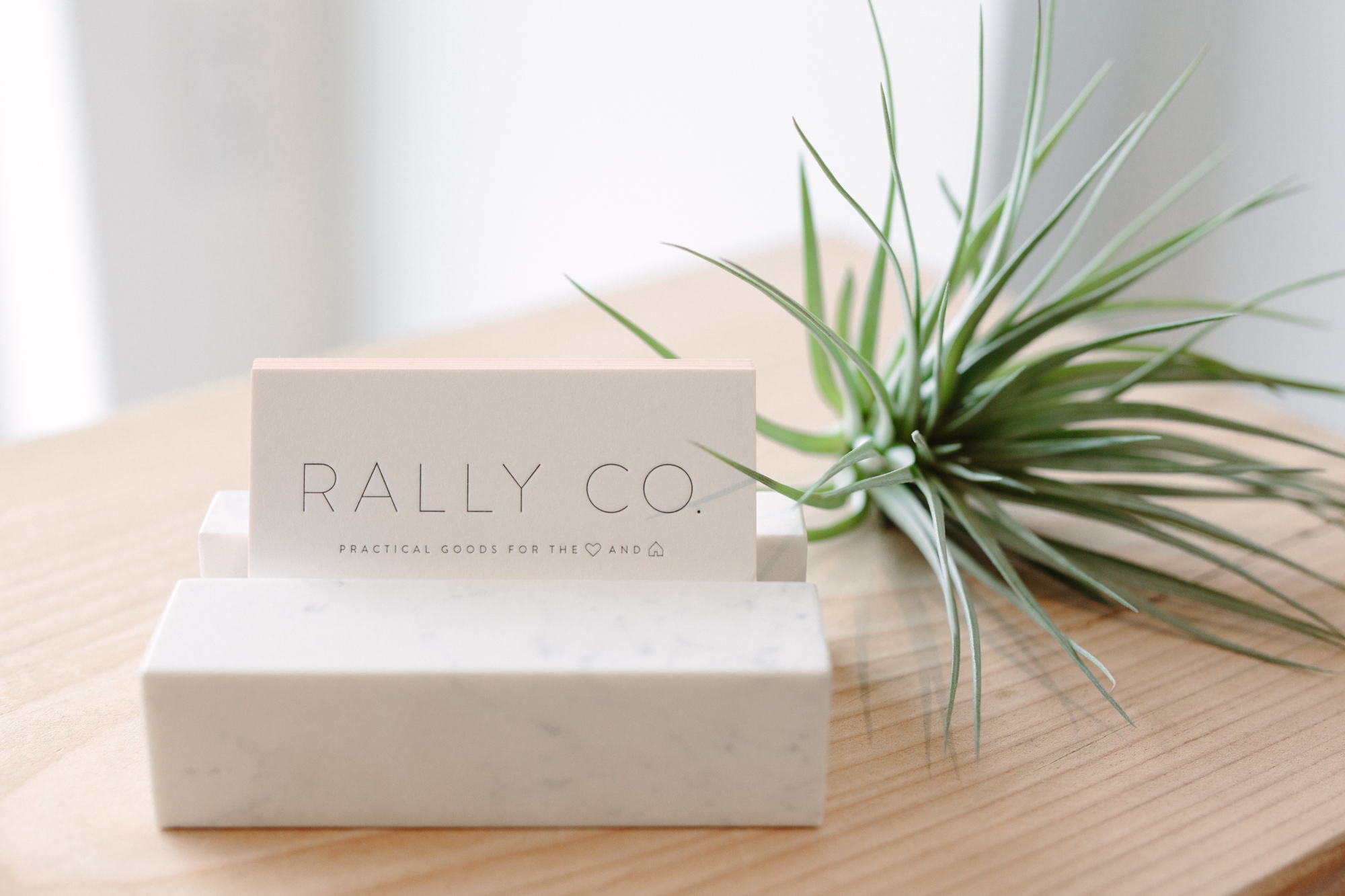 Rally Co card
