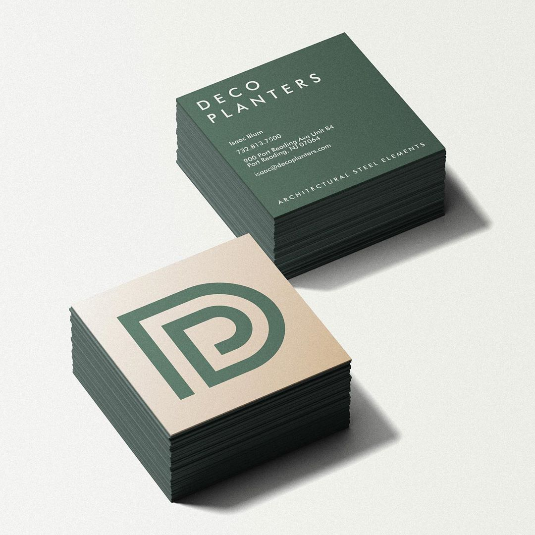 Deco Planters business card