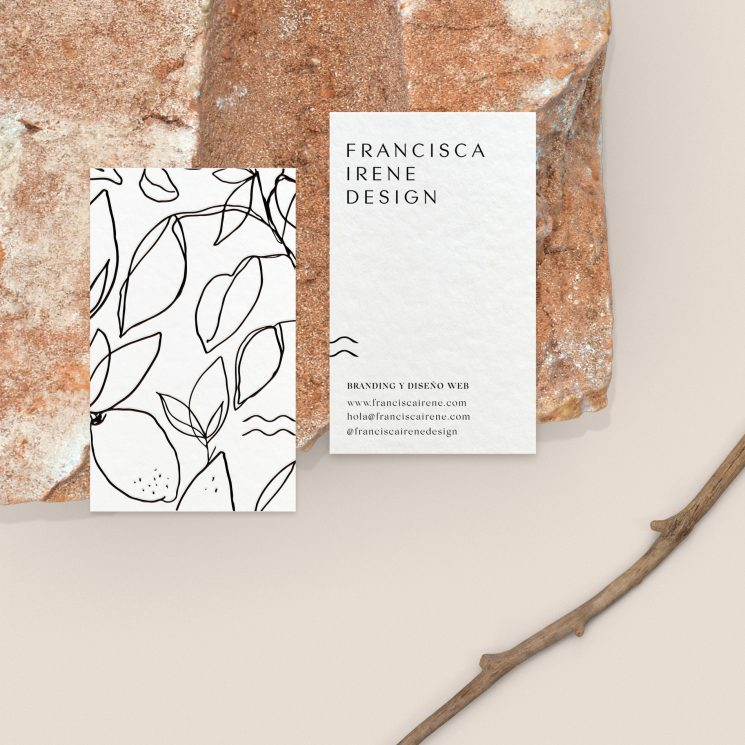 Francisca Irene business card