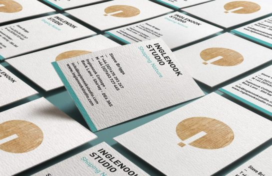 Inglenook Studio business card