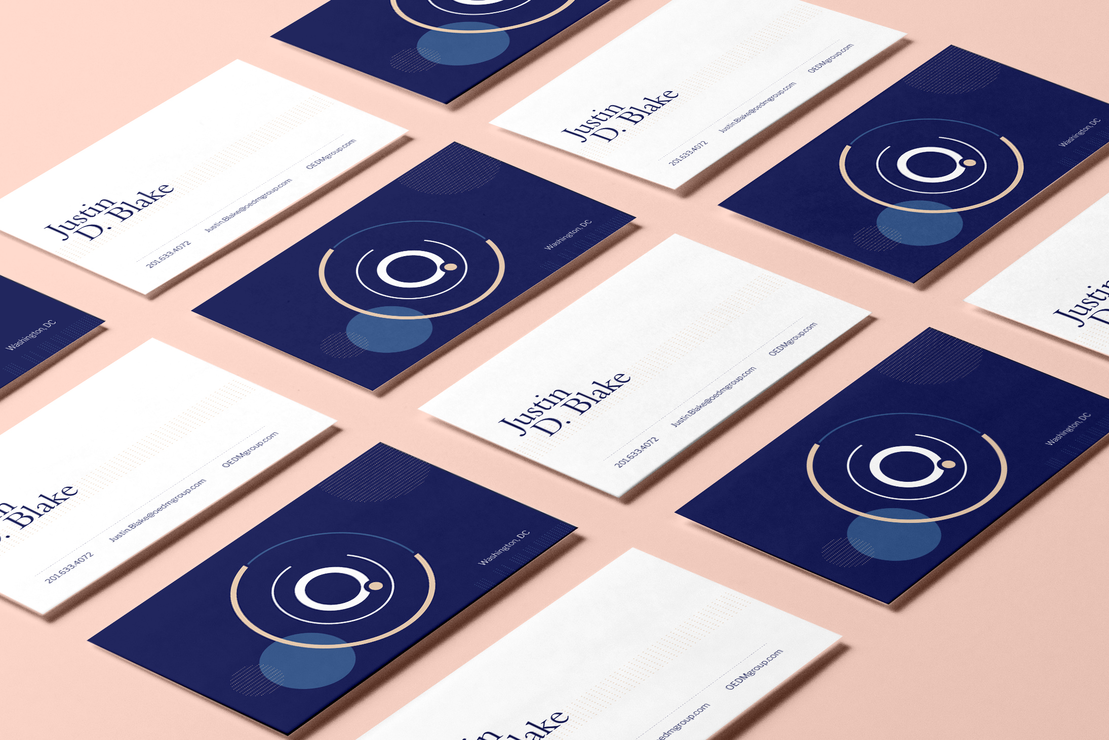 Oedm business card