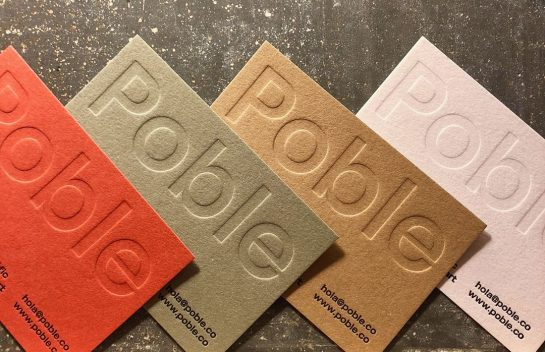 Poble business card