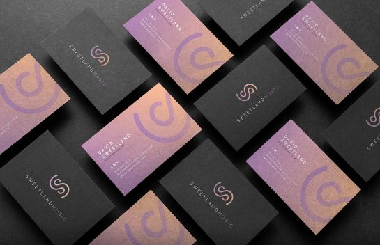 Sweetland business card