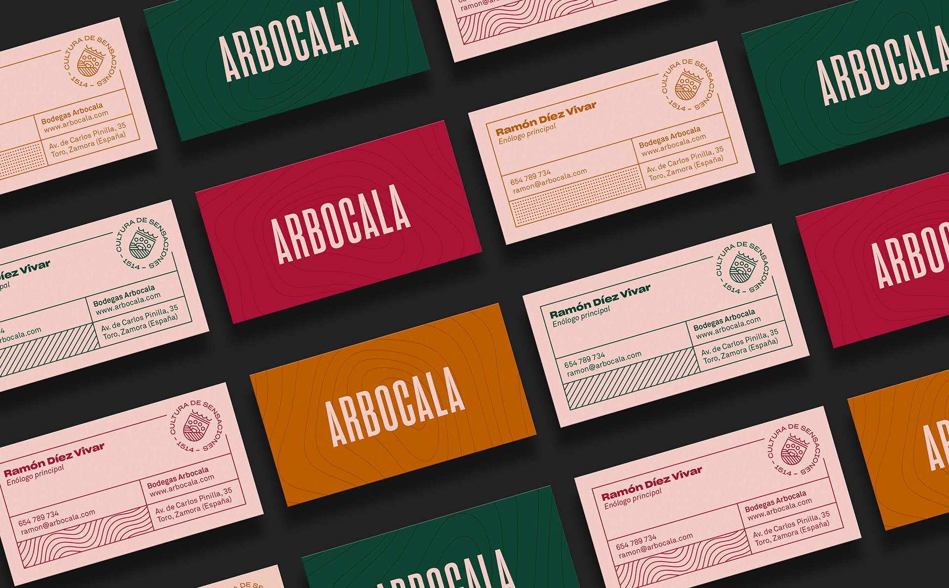 Arbocala business cards