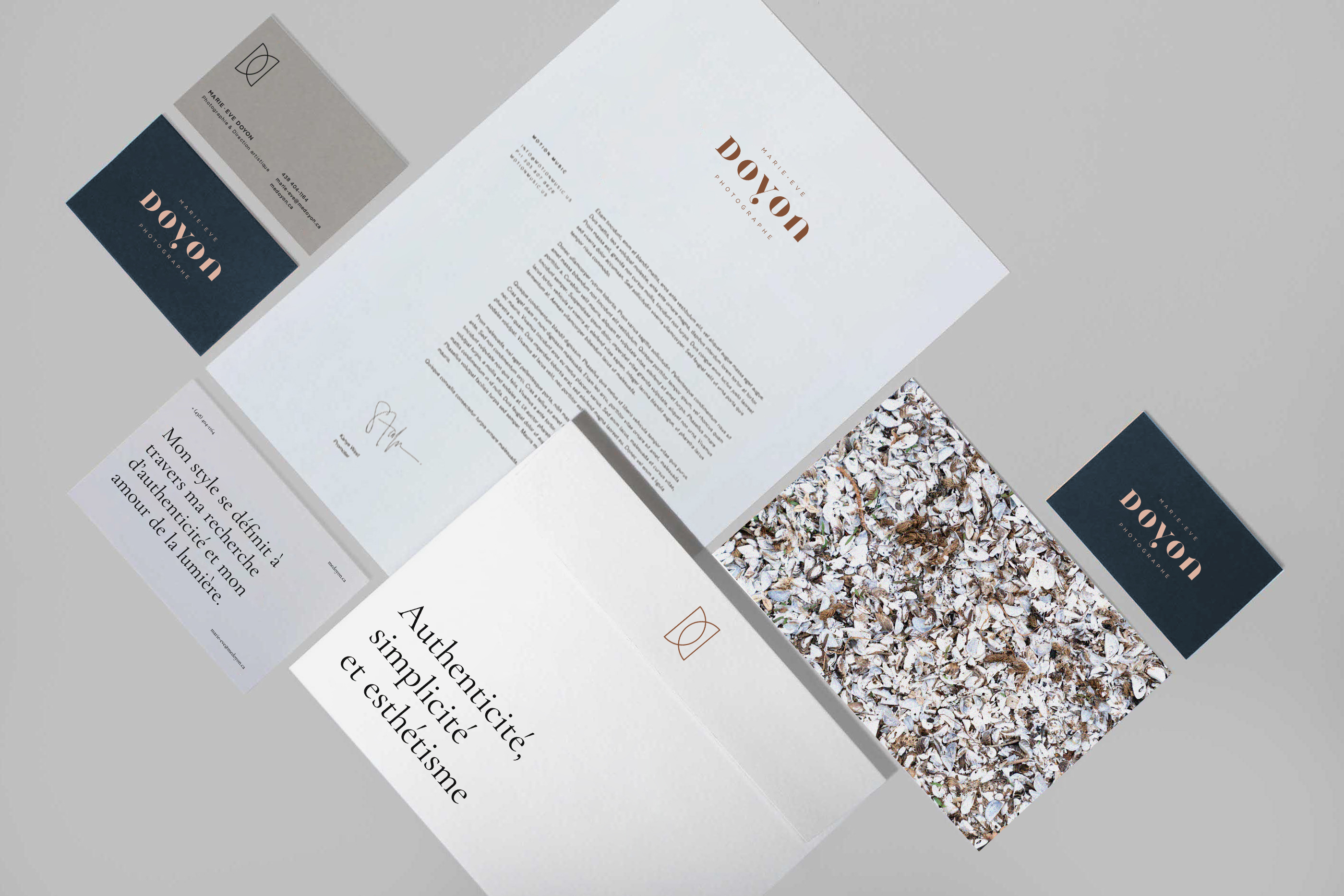 Marie-Eve Doyon stationery