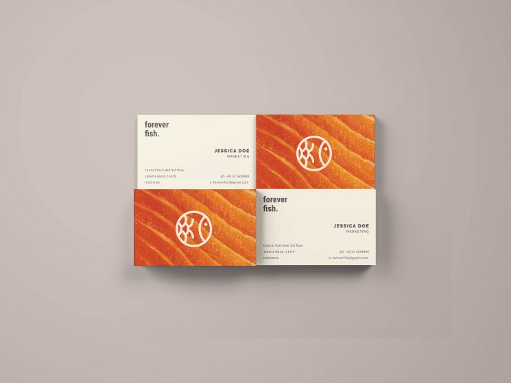 Forever Fish business card