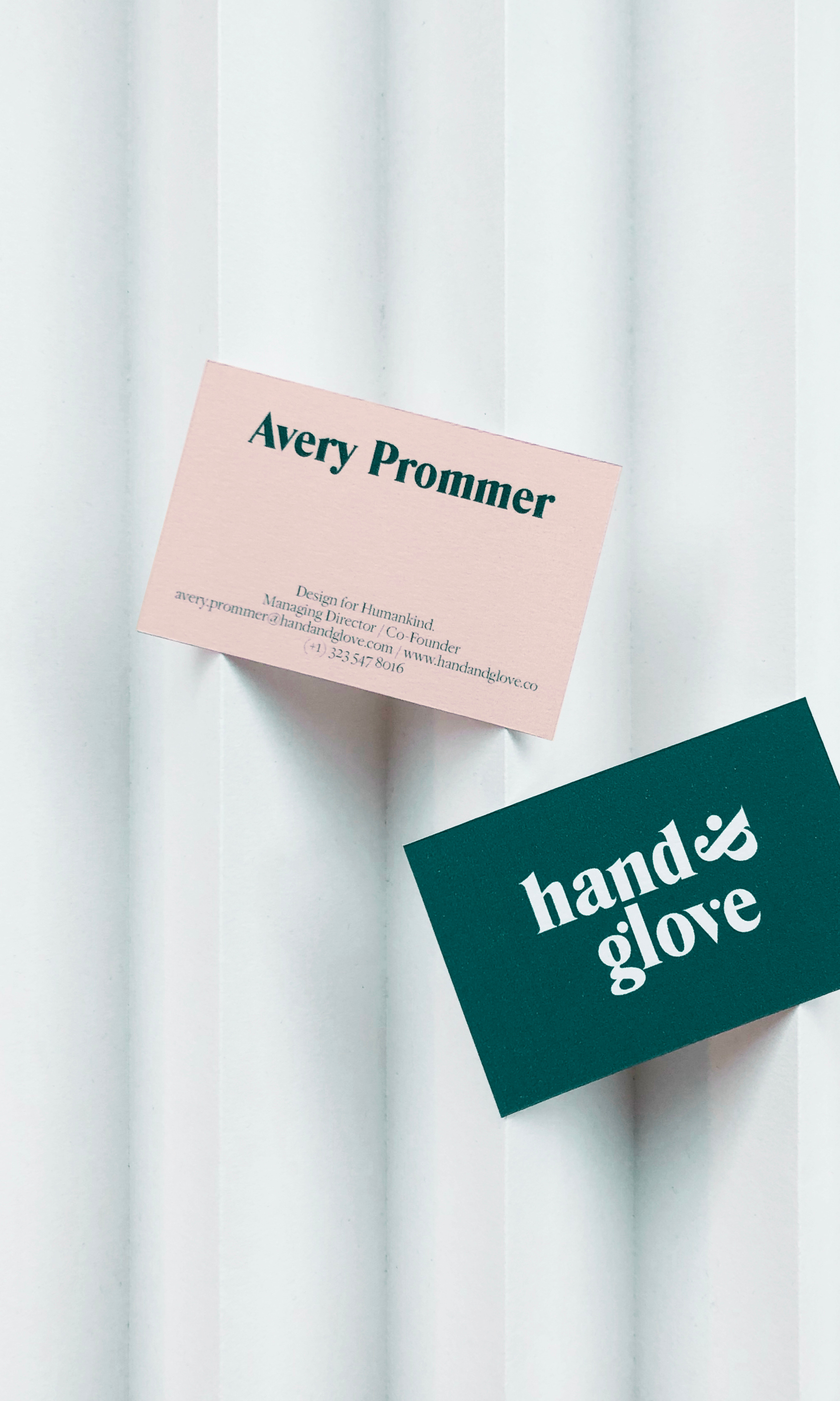 Hands&Glove business cards