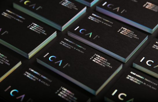 ICAR front card design