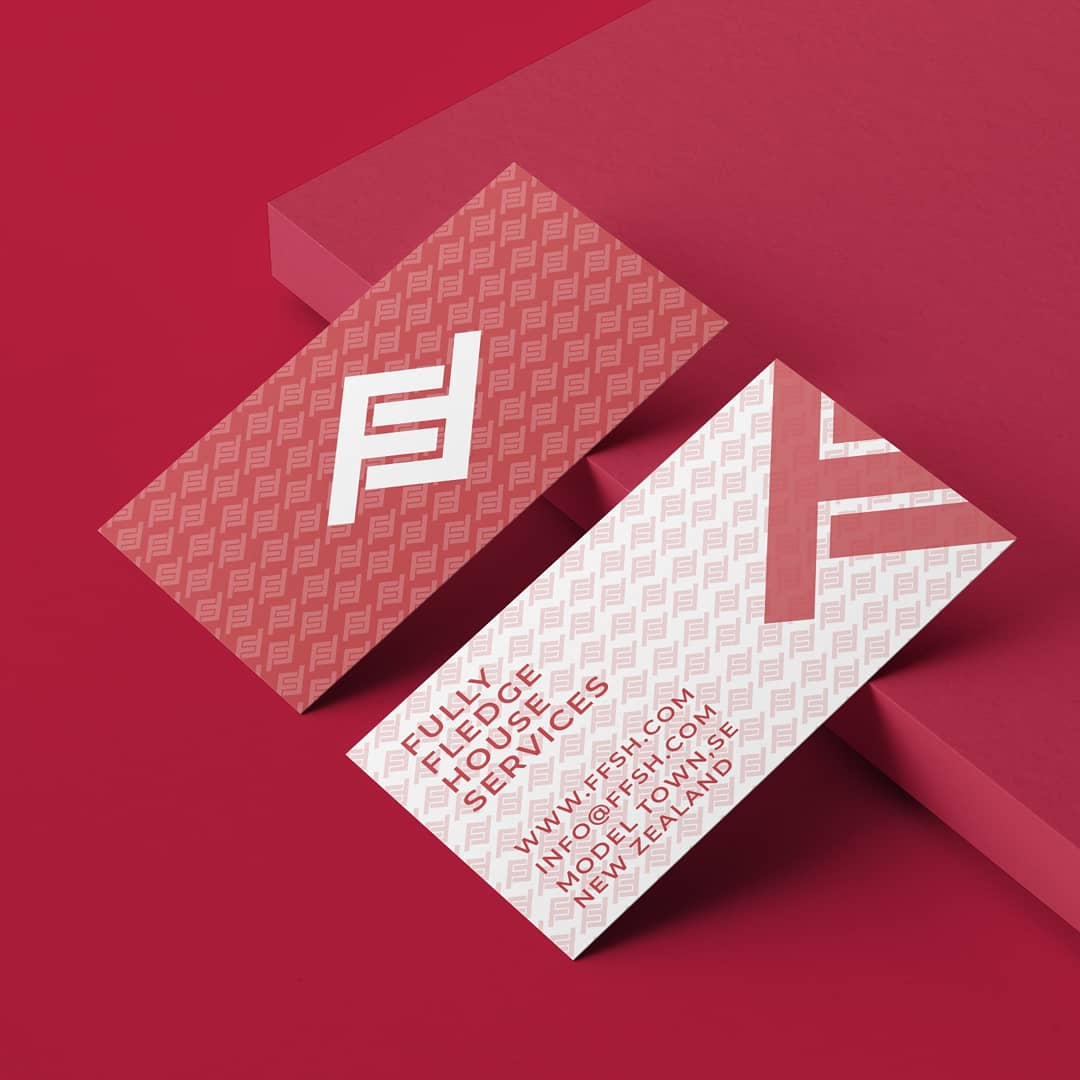 Full Fledge business card