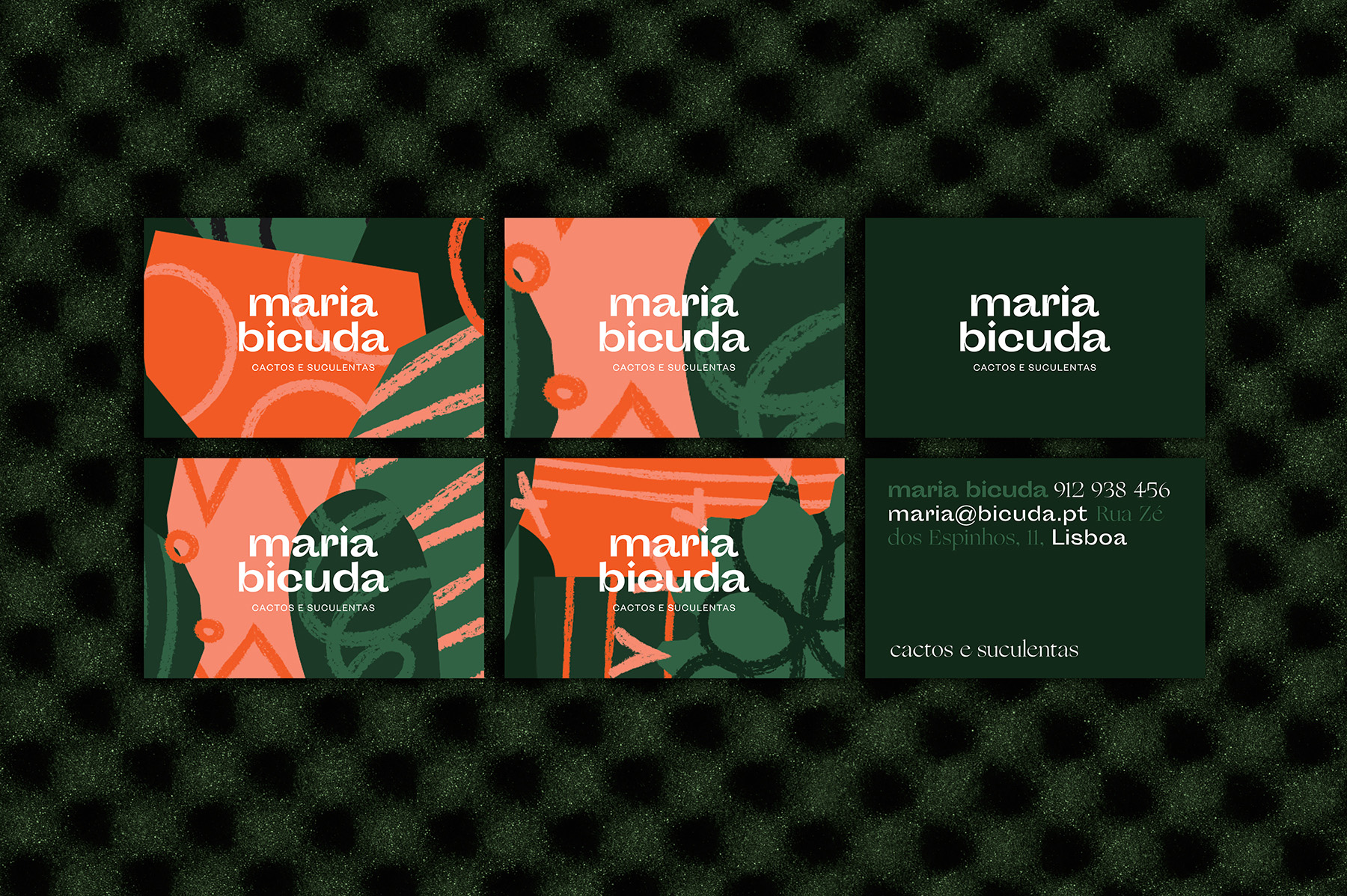 Maria Bicuda business card