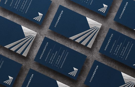 Monumentum business cards