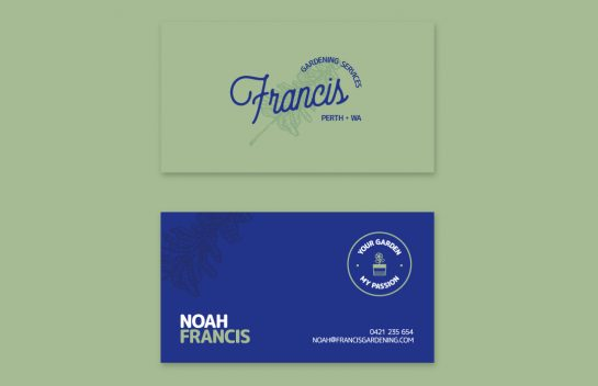 Noah Francis business cards