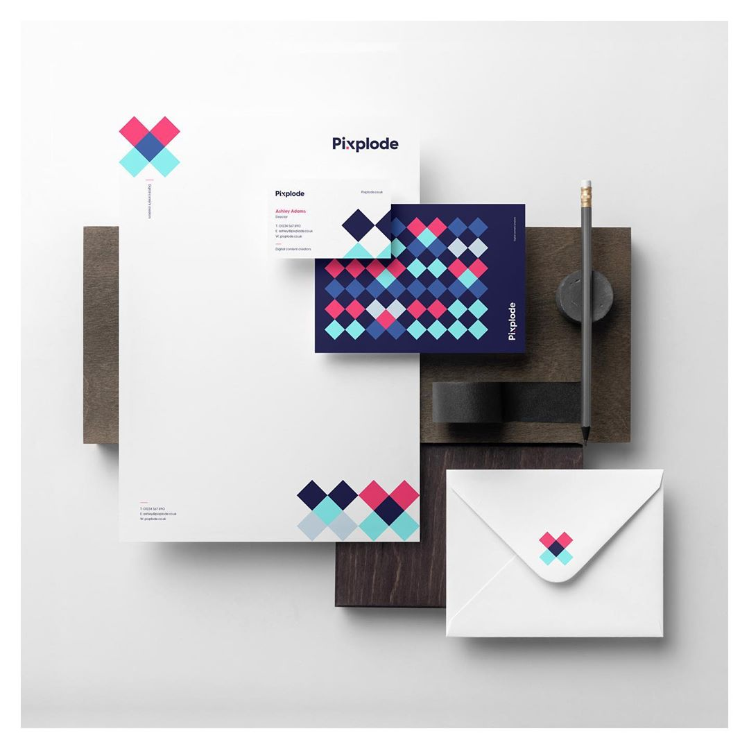 Pixplode stationery
