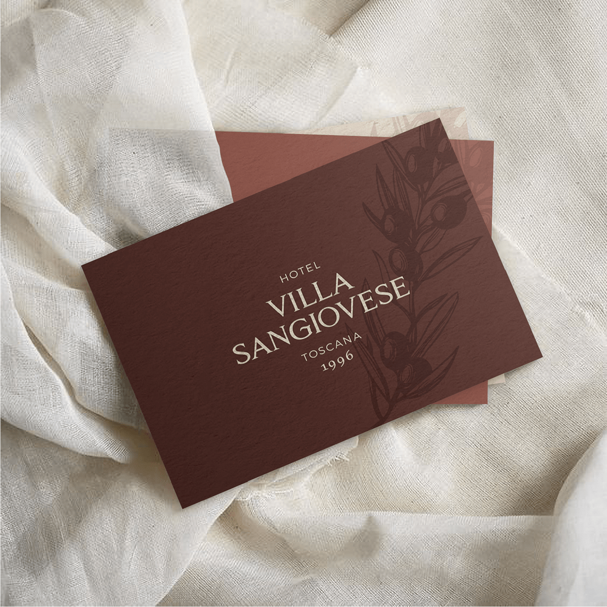 Villa Sangiovese business card