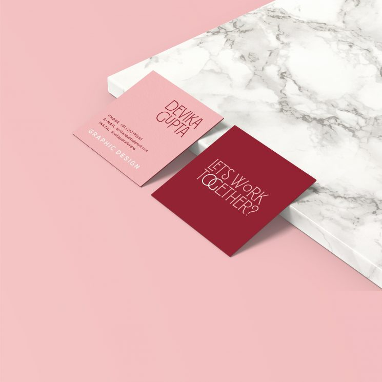 Devika Gupta business card