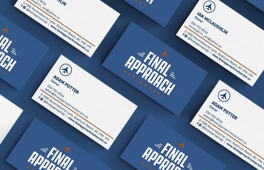 Final Approach business card