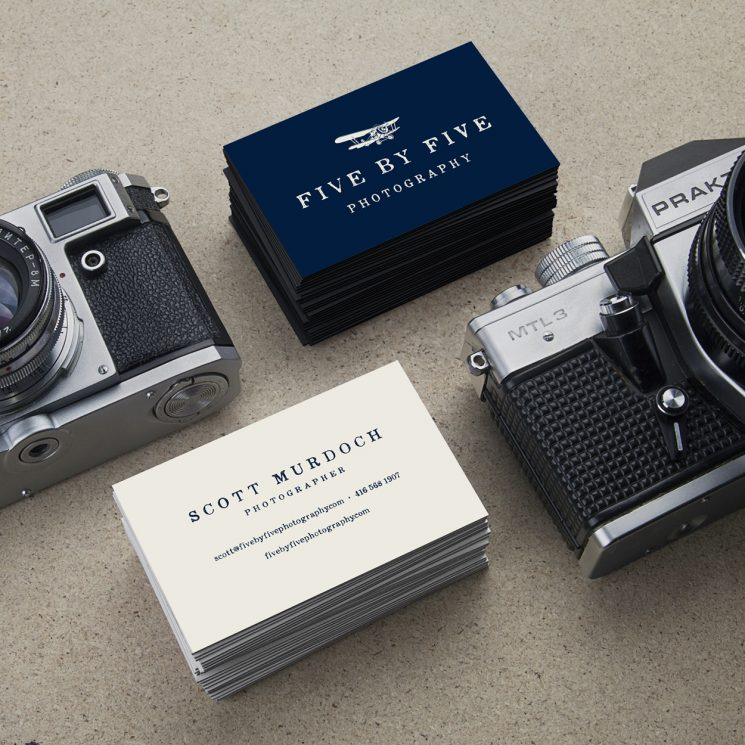 Five by Five Business Cards