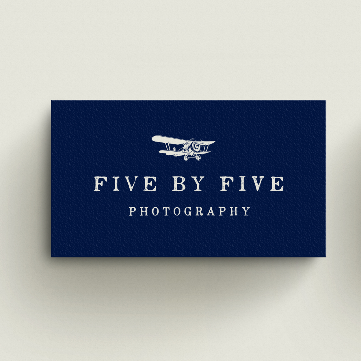Five by Five business card