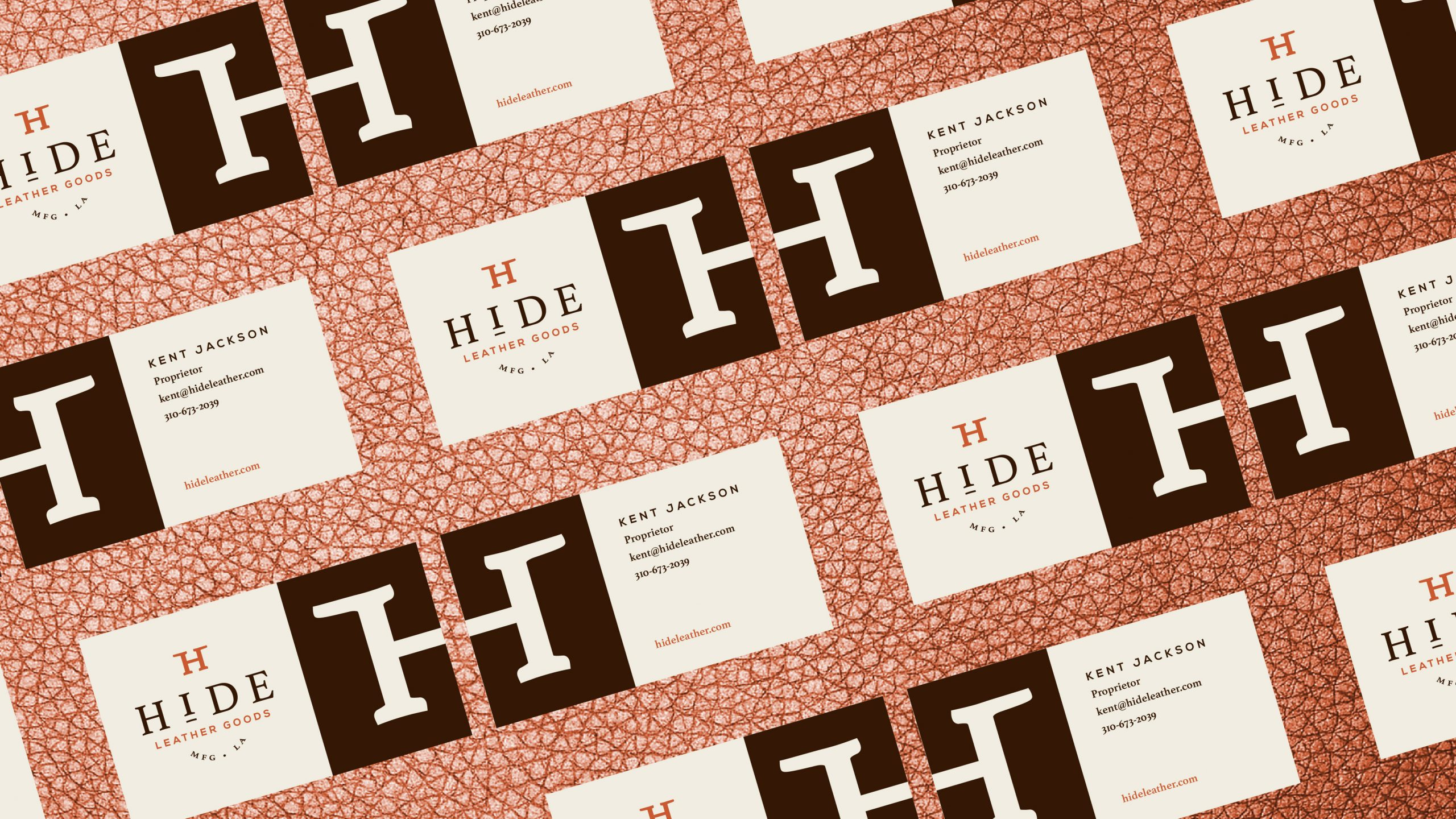 HIDE business cards