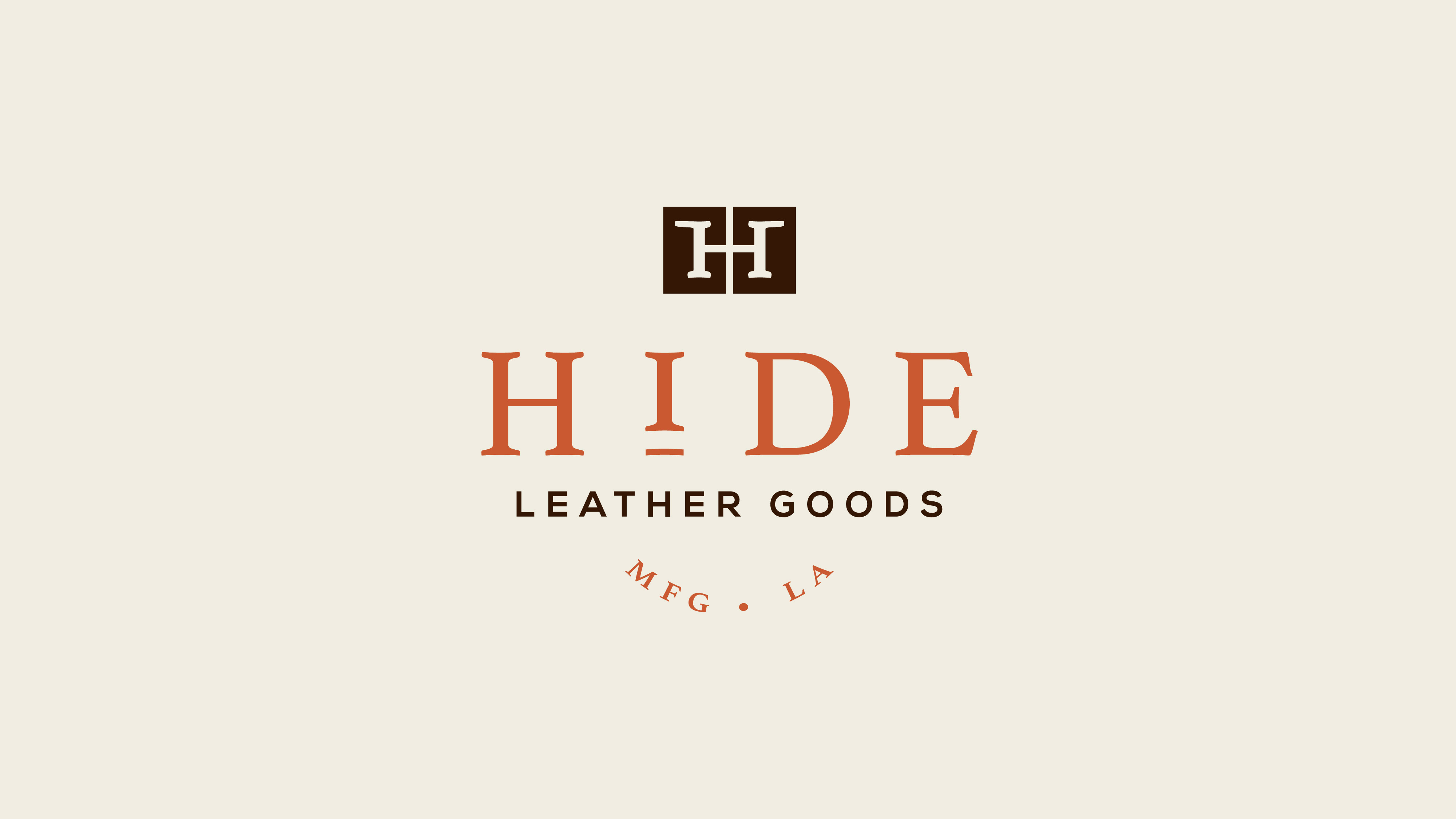 Hide Leather Goods logotype
