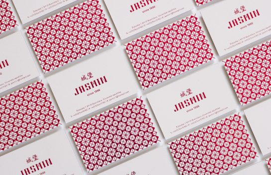 Jasmin business cards