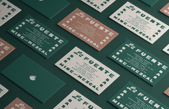 La Fuente business card