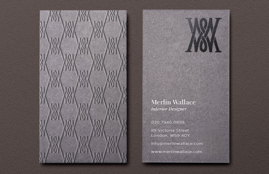 Merlin Wallace business card