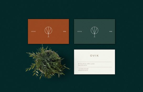 OVIK business card