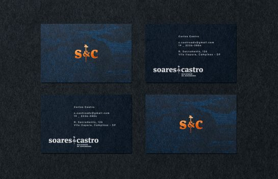 Soares & Castro business cards