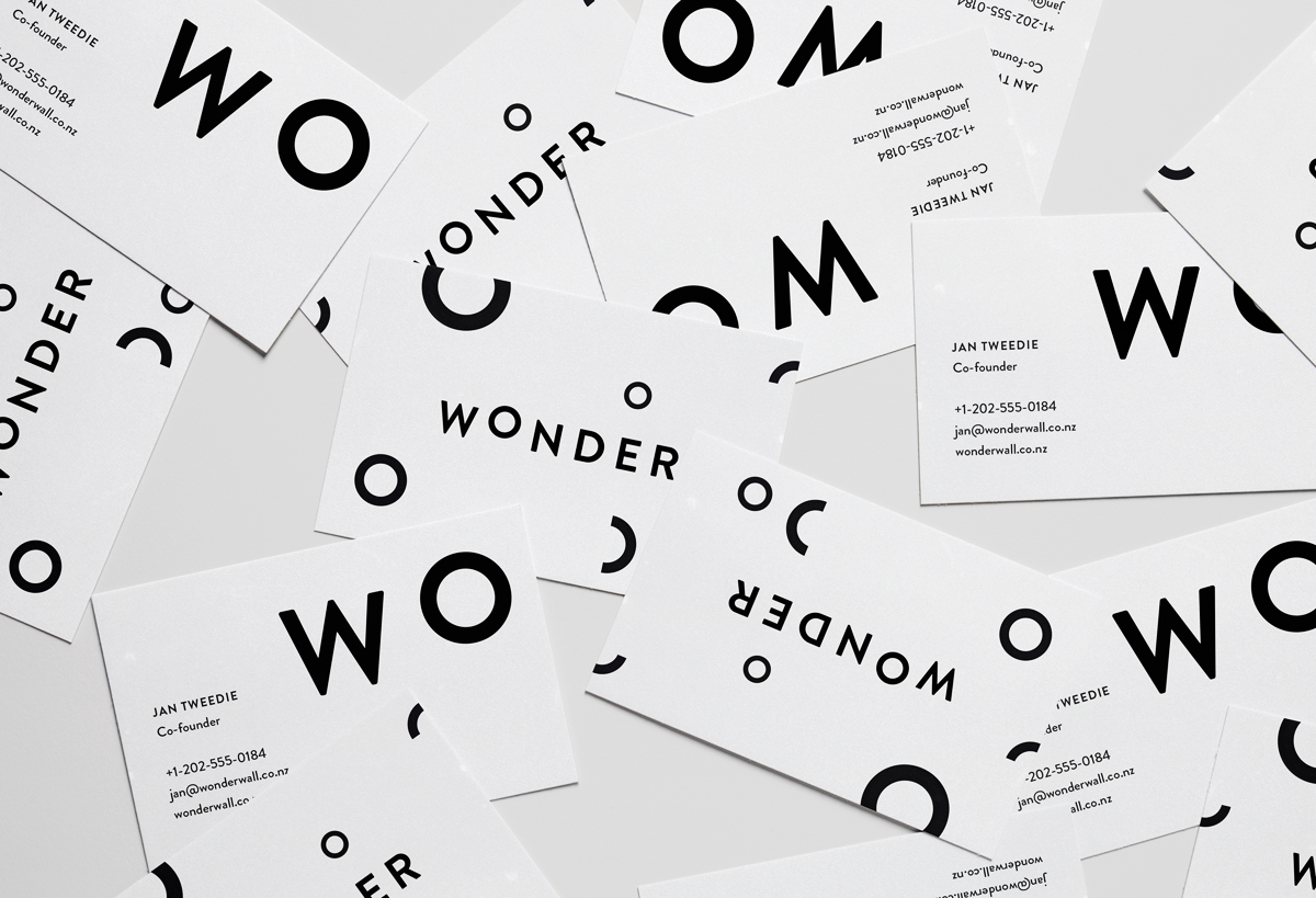 Wonderwall business cards