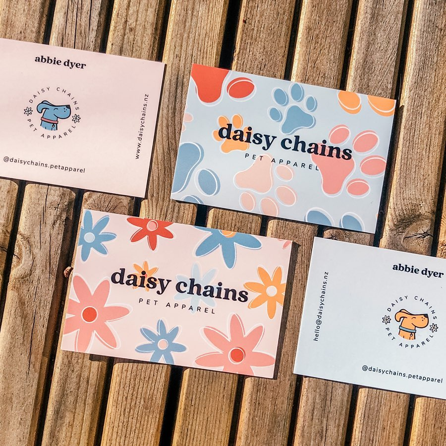 Daisy Chains business cards
