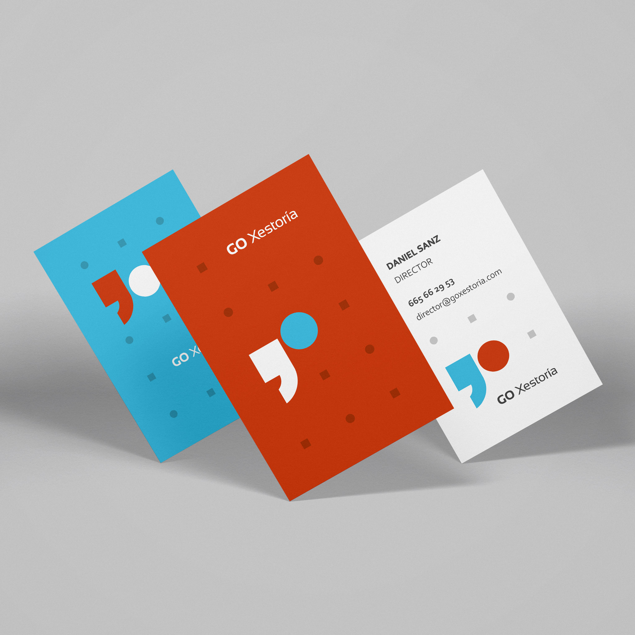 Go Xestoria businesscards