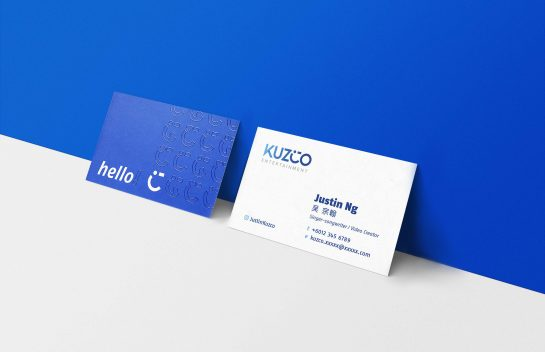 KUZCO business card