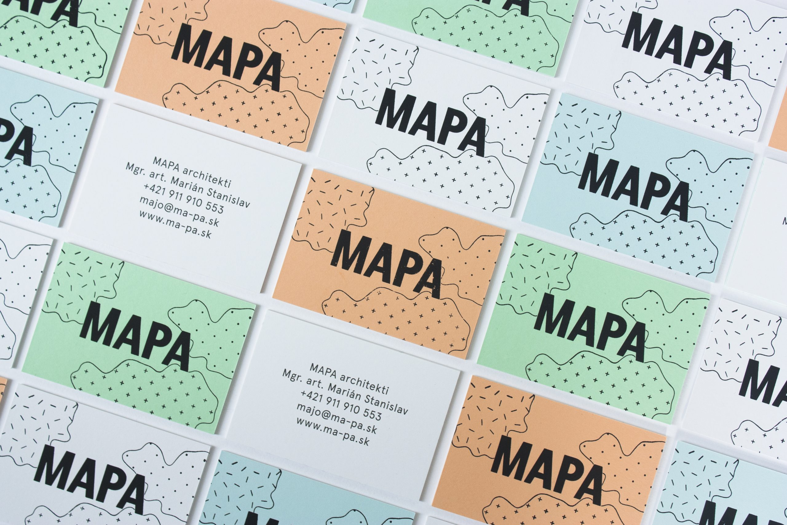 MAPA business card