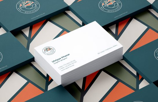 Sparrow Restaurant business card