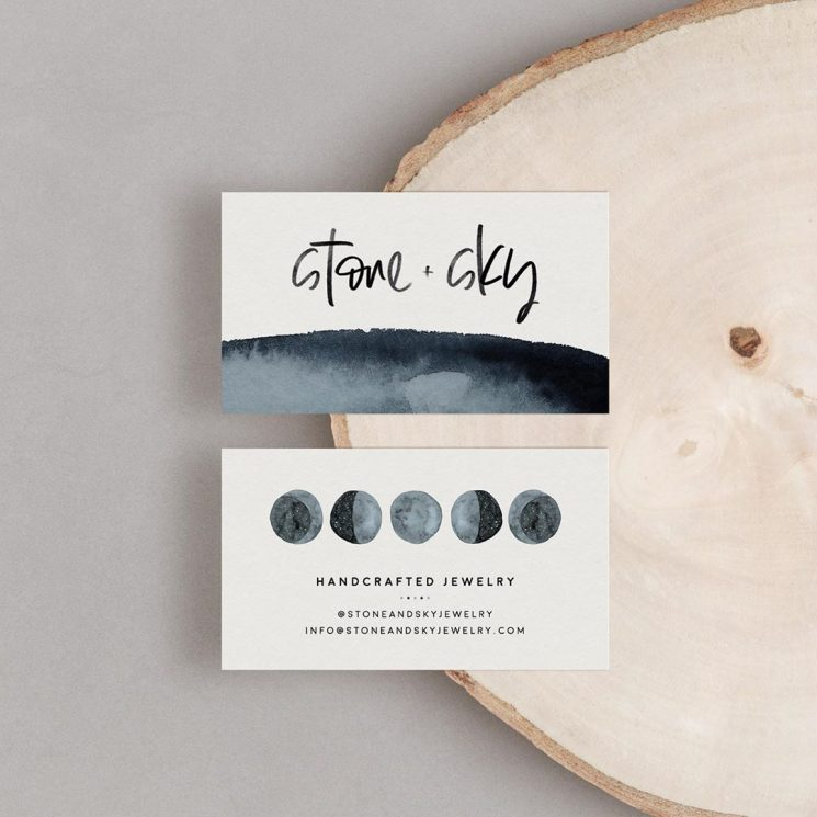 Stone and Sky business card