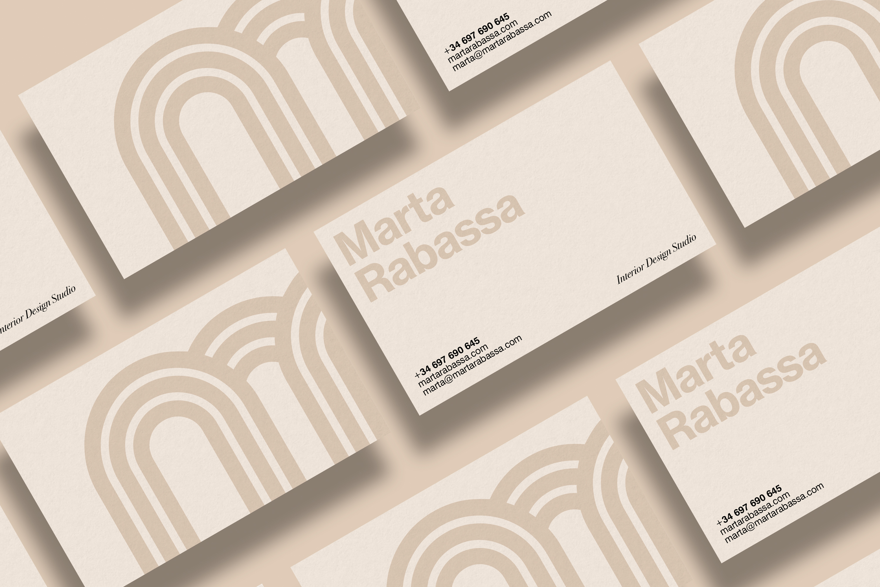 2Design Marta Rabassa business card